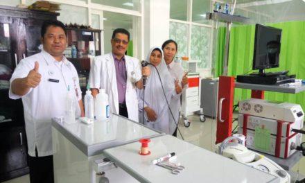 Layanan Bronchoscopy di RSUD Provinsi NTB