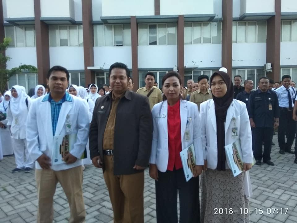 Rotasi Pegawai Lingkup RSUD Provinsi NTB Ditandai Dengan Serah Terima Jabatan