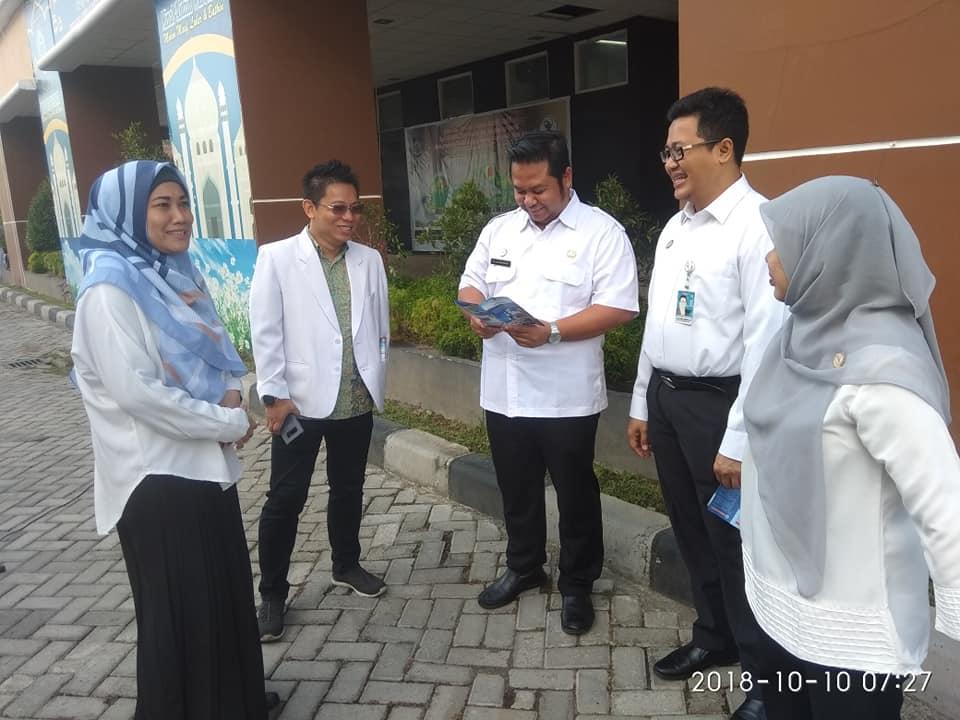 Sosialisasi Layanan Auto Debet Pajak Kendaraan Bermotor Bagi Pegawai RSUD Provinsi NTB