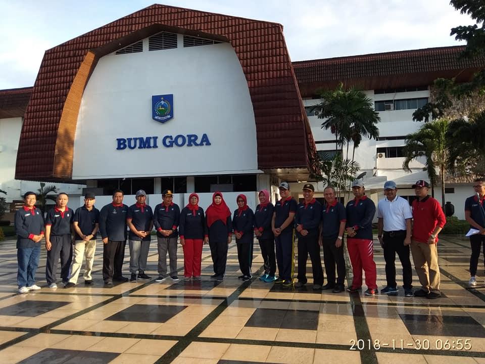 RSUD Provinsi NTB Ikuti Temu Bang Zul dan Ummi Rohmi Pada Jumat Pagi di Lapangan Bumi Gora Kantor Gubernur NTB