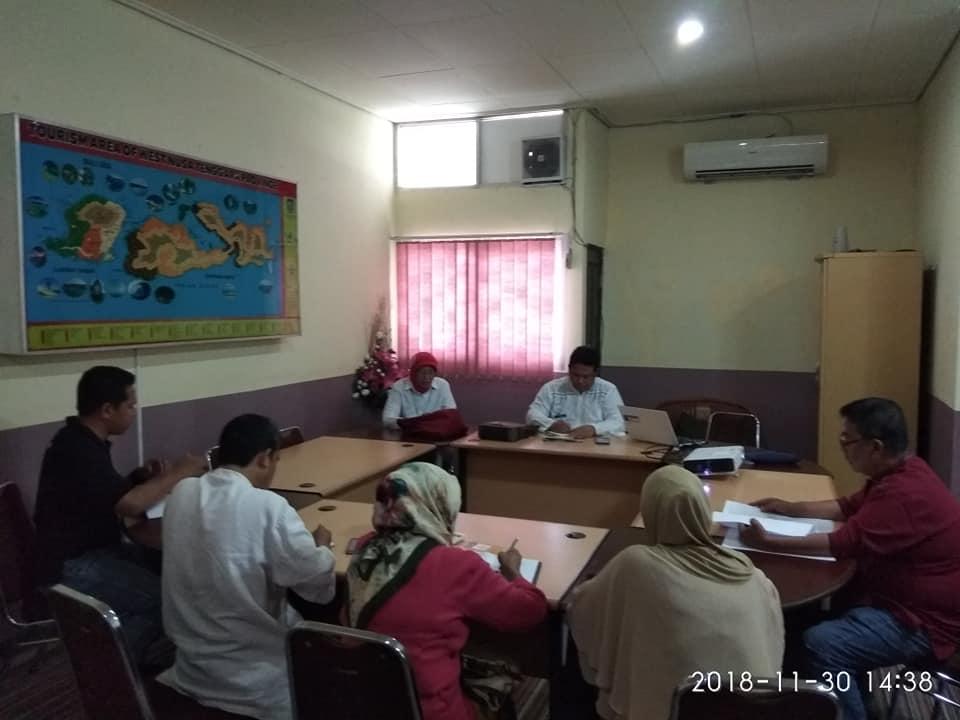 Rapat Tindak Lanjut Kunjungan ke Korea Selatan di Ruang Asisten III SETDA Provinsi NTB