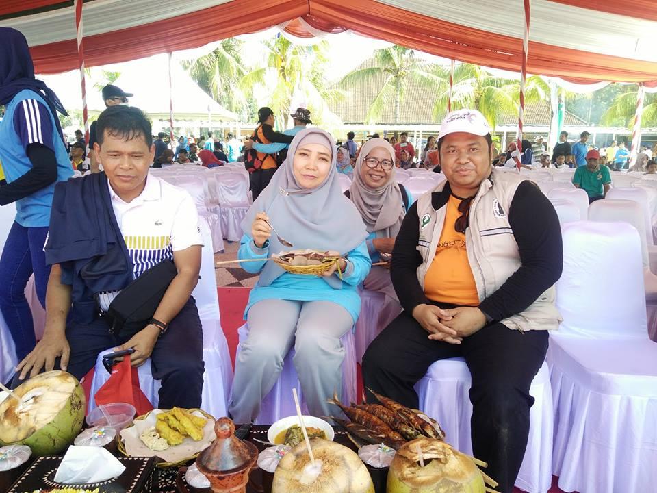 Direktur RSUD Provinsi NTB Hadiri Launching NTB Gemilang di Pantai Ampenan