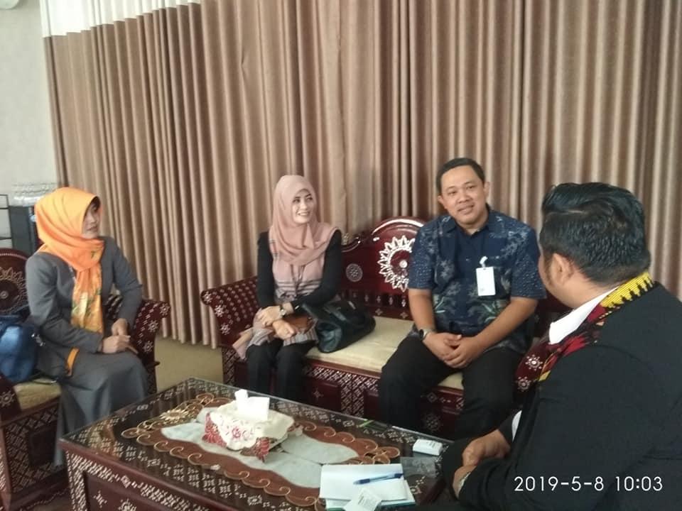 Kunjungan Tim Mandiri Syariah di RSUD Provinsi NTB