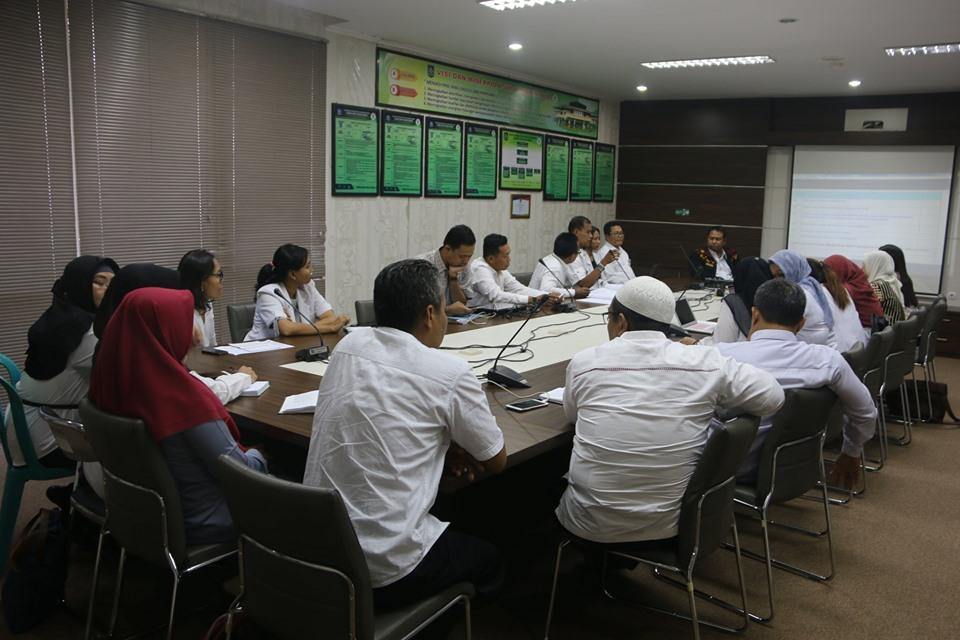 Rapat Tindak Lanjut Bimbingan Teknis Oleh Pokja PMKP