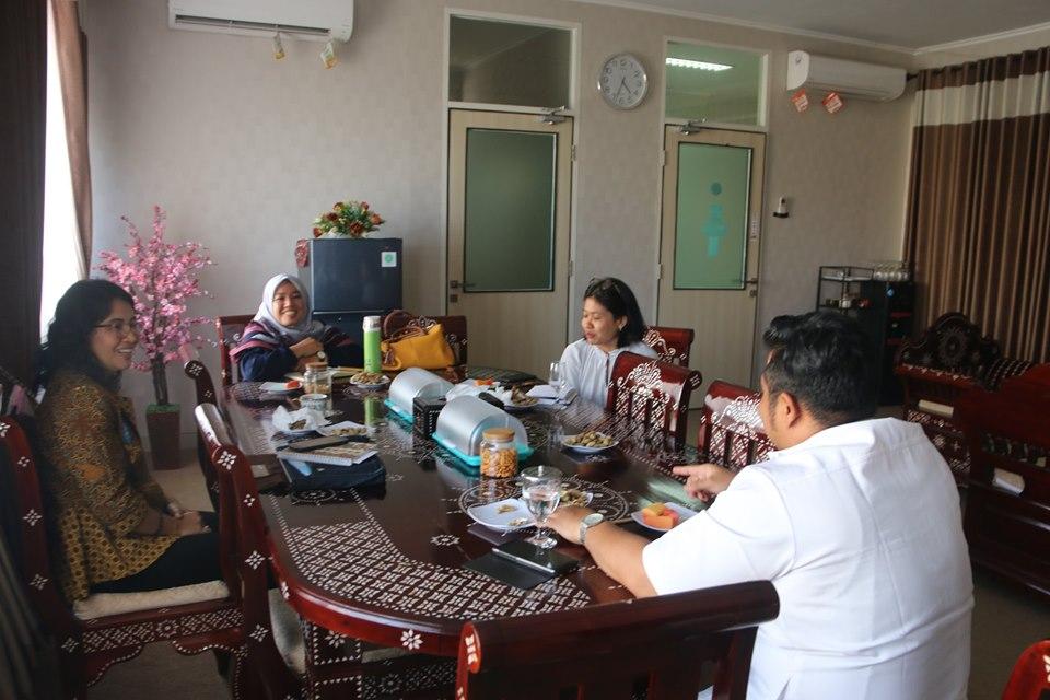 Direktur RSUD Provinsi NTB Menerima Kunjungan Silaturahmi UNICEF