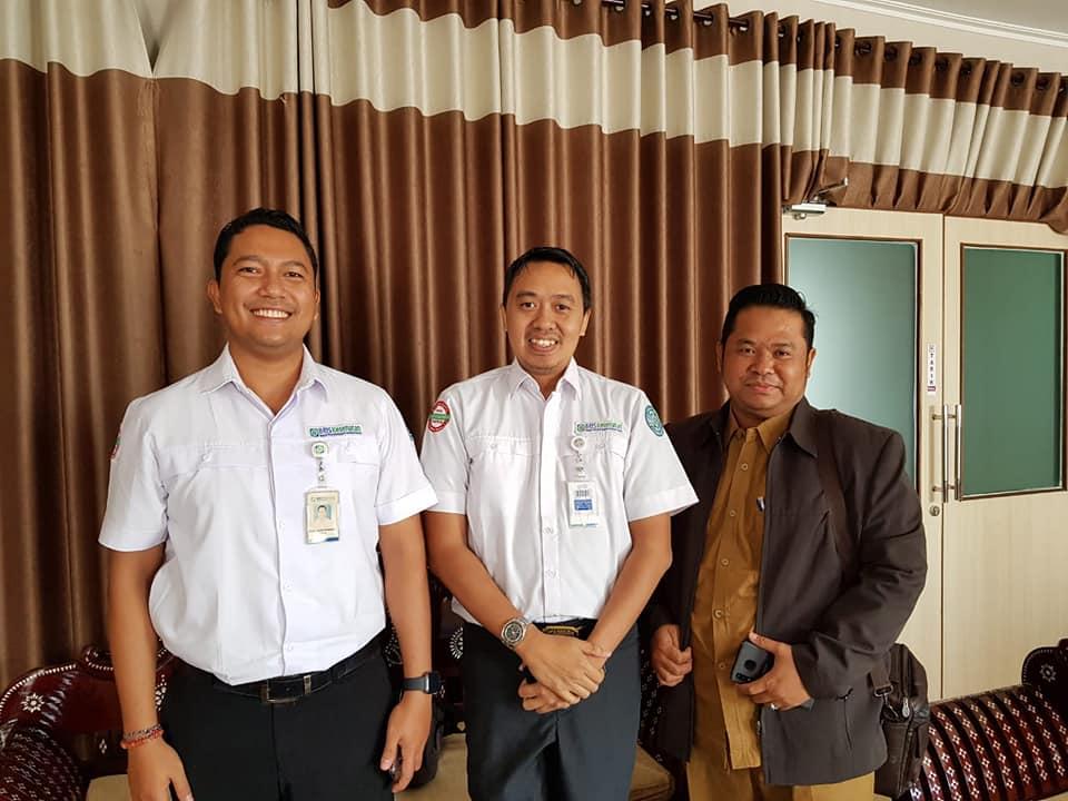 Pejabat BPJS Kesehatan Mataram Kunjungi RSUD Provinsi NTB