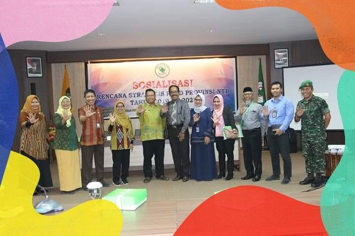 Sosialisasi RENSTRA Tahun 2019-2023 Dihadiri Pemerintah Kecamatan Sandubaya Hingga Dinas Kesehatan Provinsi NTB