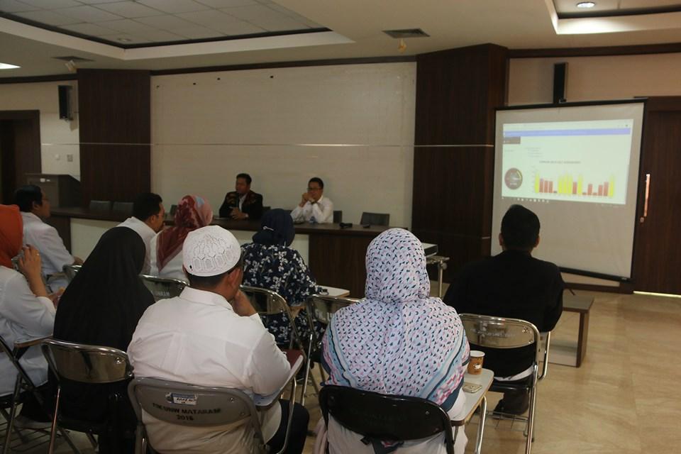 Rapat Koordinasi Persiapan Survey Simulasi Akreditasi SNARS Edisi I di Aula Tambora