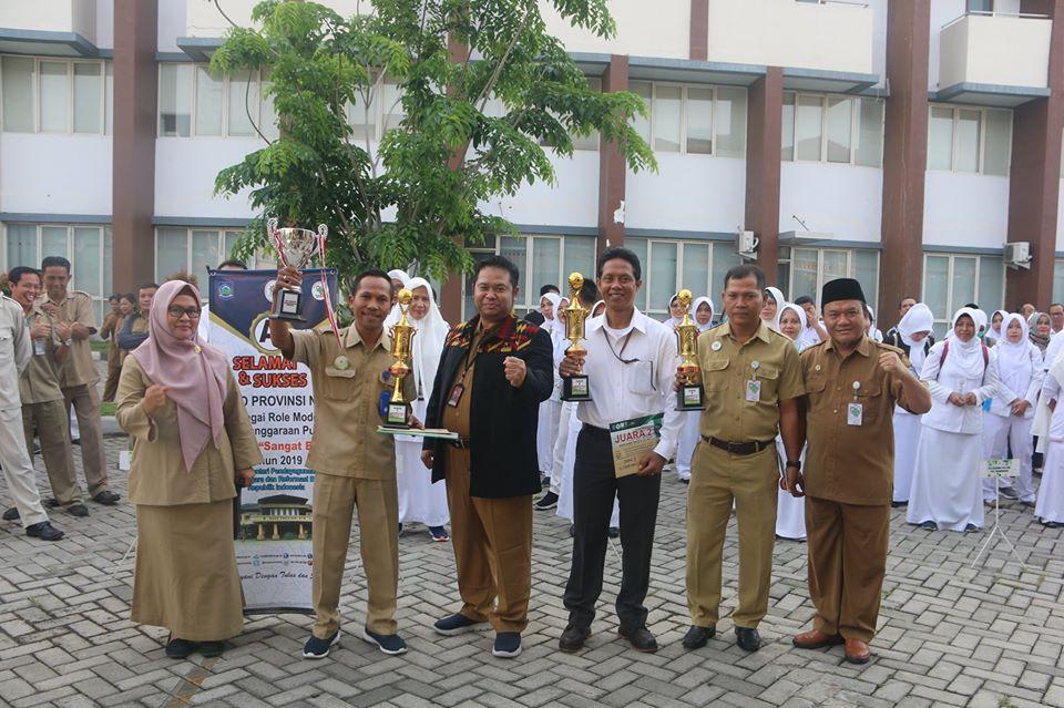 Rumah Sakit Mata Dinas Kesehatan Provinsi NTB Juara I Futsal Direktur Cup 2019