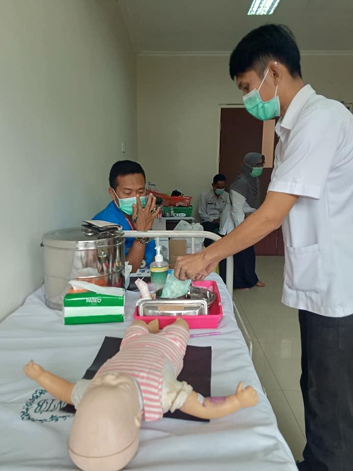 Skill Test Tenaga Kesehatan dan Non Kesehatan Dalam Rangka Penerimaan Pegawai Kontrak Untuk Penanganan COVID-19 di RSUD Provinsi NTB