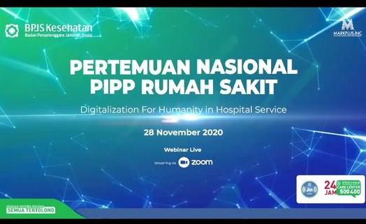 Pertemuan Nasional PIPP Rumah Sakit Secara Virtual Melalui Zoom Meeting
