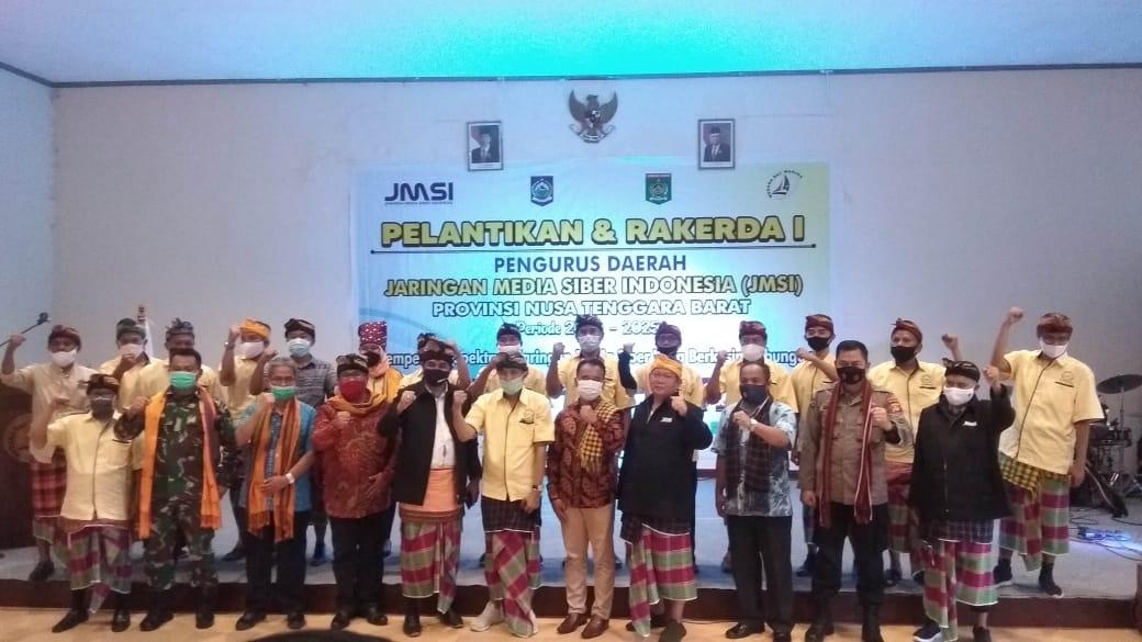 Selamat dan Sukses Atas Pelantikan dan Rakerda I JMSI Provinsi NTB Periode 2020-2025