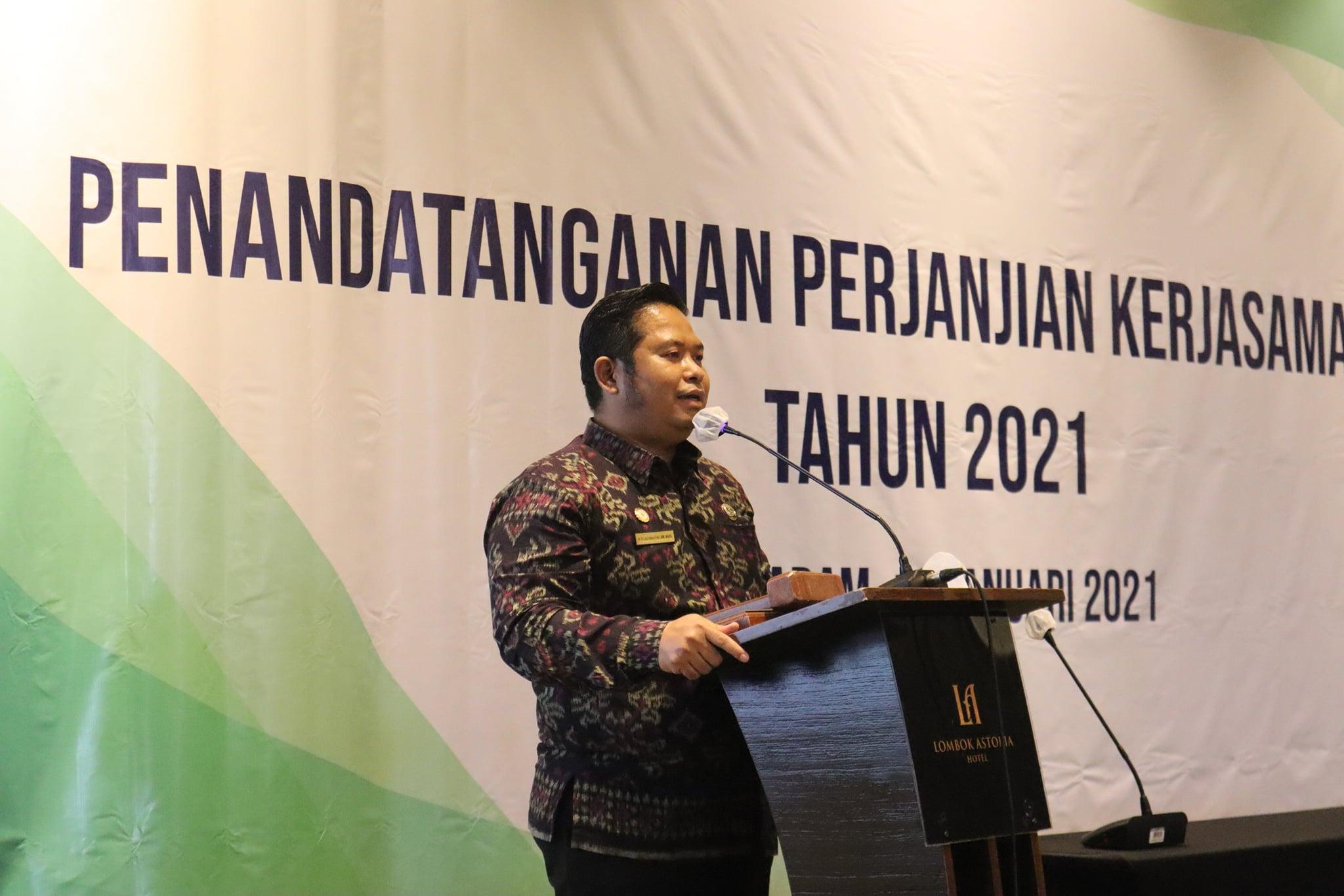 Penandatanganan Perjanjian Kerjasama (PKS) Antara BPJS Kesehatan Cabang Mataram dengan Fasilitas Kesehatan Rujukan Tingkat Lanjut Provider Tahun 2021