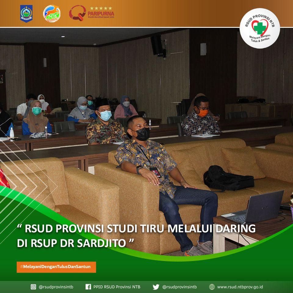 RSUD Provinsi NTB Studi Tiru Melalui Daring di RSUD dr. Sardjito