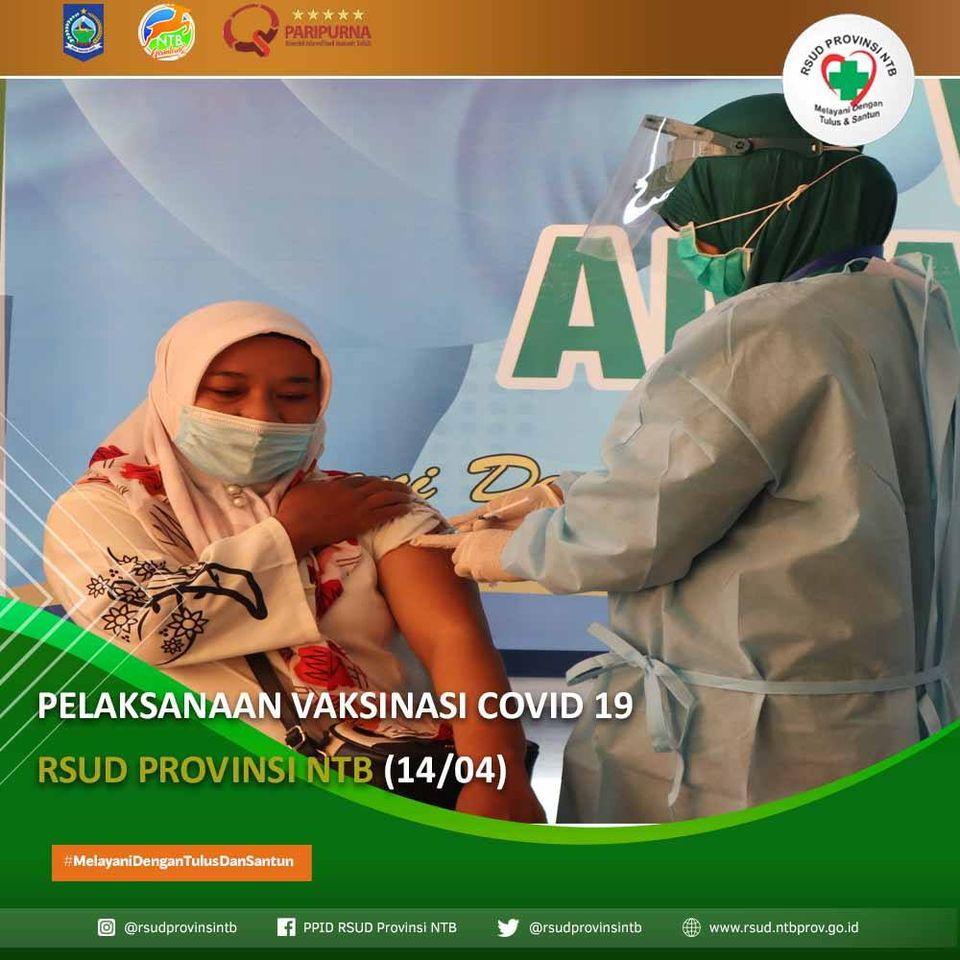 Pelaksanaan Vaksinasi COVID-19 RSUD Provinsi NTB